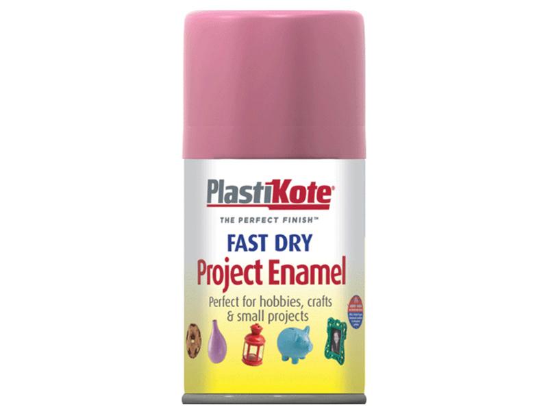 Thumbnail image of PlastiKote Fast Dry Enamel Aerosol Hot Pink 100ml