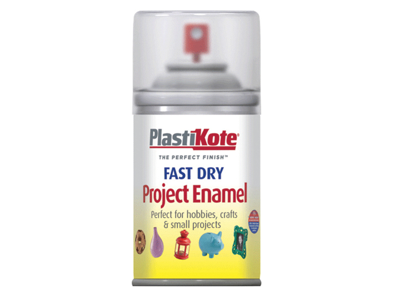 Thumbnail image of PlastiKote Fast Dry Enamel Aerosol Clear 100ml