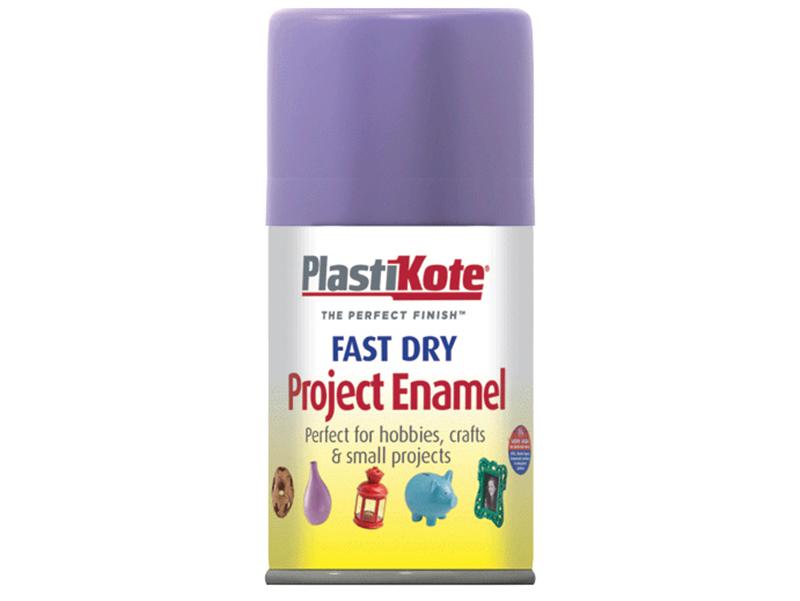 Thumbnail image of PlastiKote Fast Dry Enamel Aerosol Lavender 100ml