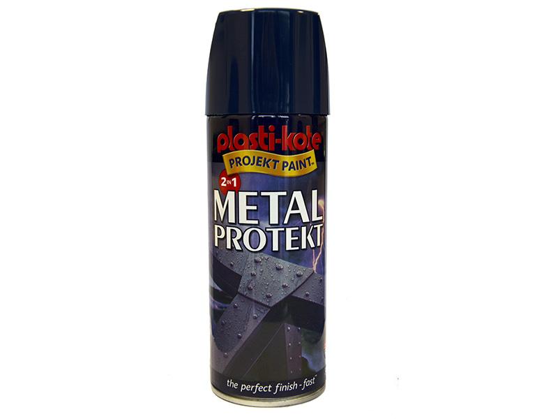 Thumbnail image of PlastiKote Metal Protekt Spray Royal Blue 400ml