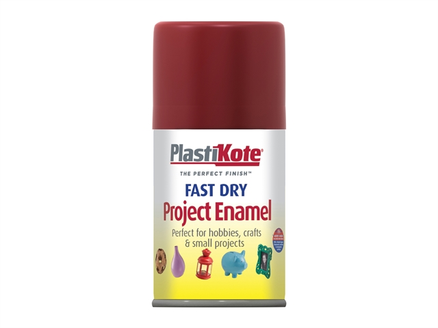 Thumbnail image of PlastiKote Fast Dry Enamel Aerosol Metallic Red 100ml