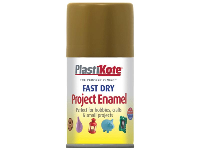Thumbnail image of PlastiKote Fast Dry Enamel Aerosol Antique Gold 100ml