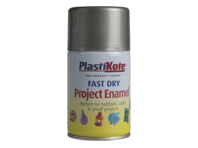 Thumbnail image of PlastiKote Fast Dry Enamel Aerosol Pewter 100ml