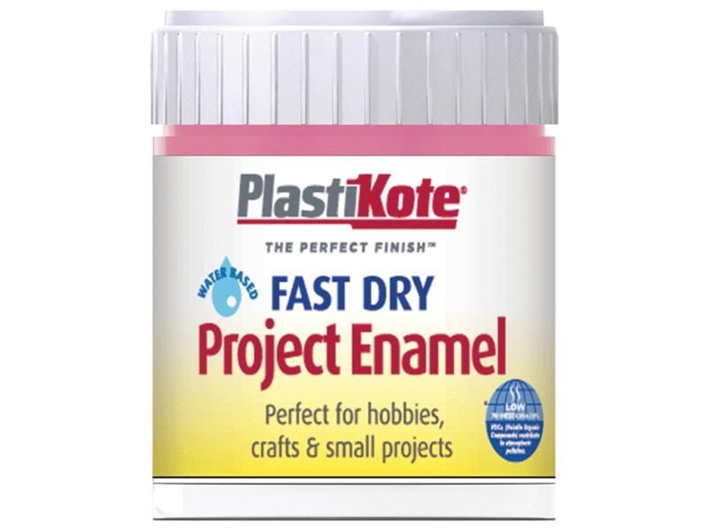 Thumbnail image of PlastiKote Fast Dry Enamel Paint B14 Bottle Hot Pink 59ml