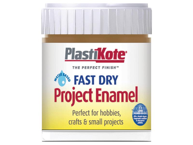 Thumbnail image of PlastiKote Fast Dry Enamel Paint B17 Bottle Nut Brown 59ml