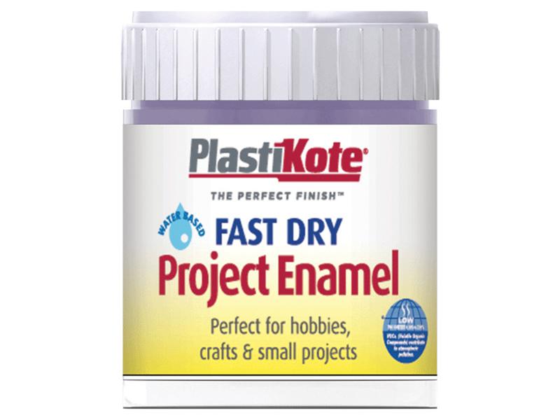 Thumbnail image of PlastiKote Fast Dry Enamel Paint B22 Bottle Lavender 59ml