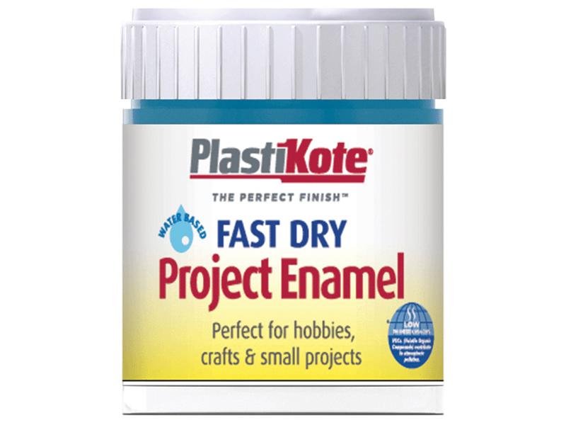 Thumbnail image of PlastiKote Fast Dry Enamel Paint B23 Bottle Harbour Blue 59ml
