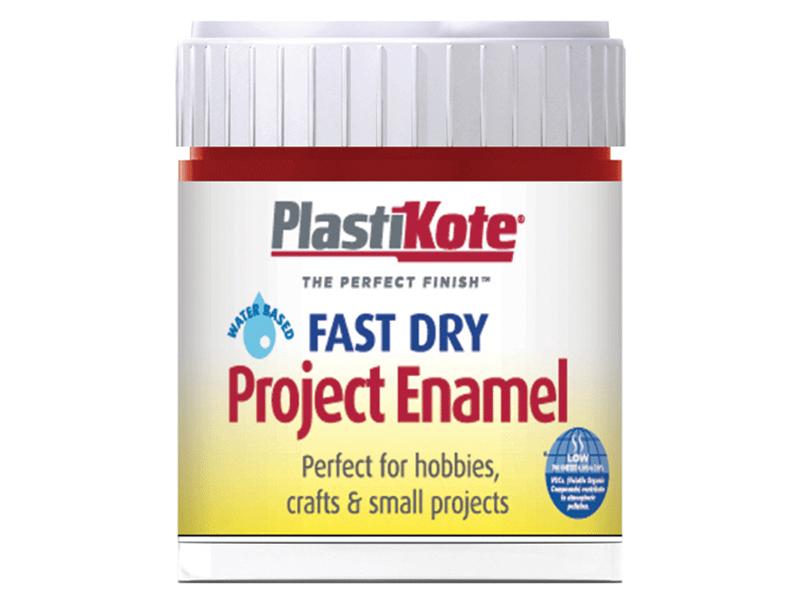 Thumbnail image of PlastiKote Fast Dry Enamel Paint B25 Bottle Metallic Red 59ml