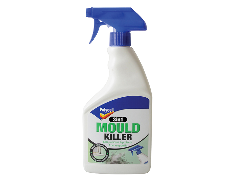 Thumbnail image of Polycell 3-in-1 Mould Killer 500ml Spray