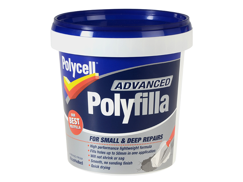 Thumbnail image of Polycell Polyfilla Advance All In One Tub 600ml