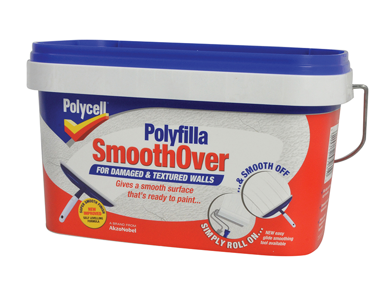 Thumbnail image of Polycell SmoothOver Damaged / Textured Walls 2.5 litre