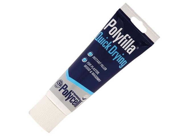 Thumbnail image of Polycell Trade Quick Dry Polyfilla Tube 330g