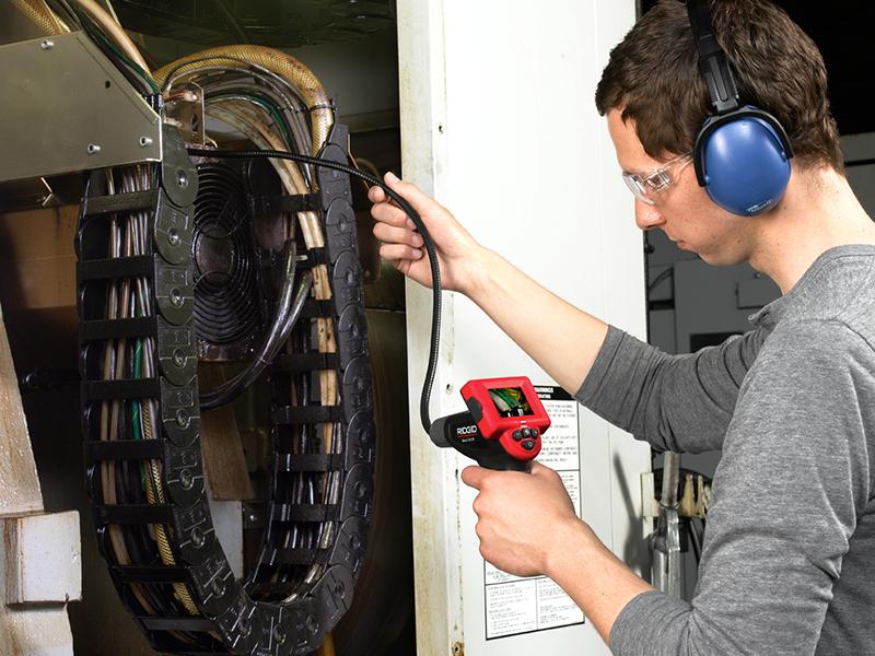 Thumbnail image of Rigid CA-25 Micro SeeSnake® Hand Held Inspection Camera 40043