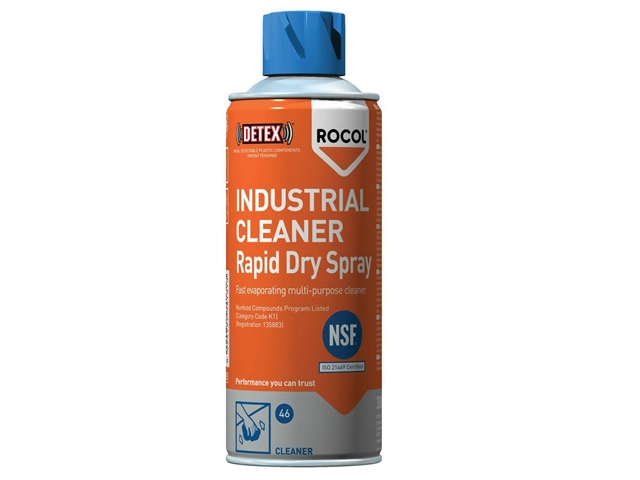 Thumbnail image of Rocol INDUSTRIAL CLEANER Rapid Dry Spray 300ml