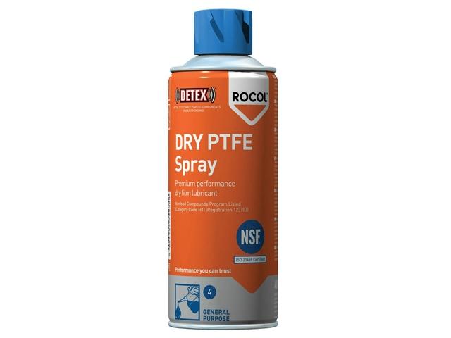 Thumbnail image of Rocol DRY PTFE Spray 400ml