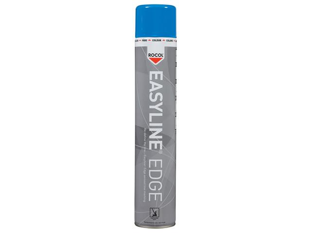 Thumbnail image of Rocol EASYLINE® Edge Line Marking Paint Blue 750ml