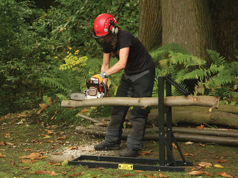 Thumbnail image of Roughneck Logger's Mate Saw Horse