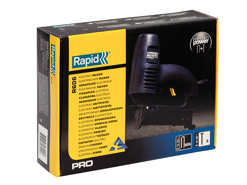 Thumbnail image of Rapid PRO R606 Electric Staple/Nail Gun