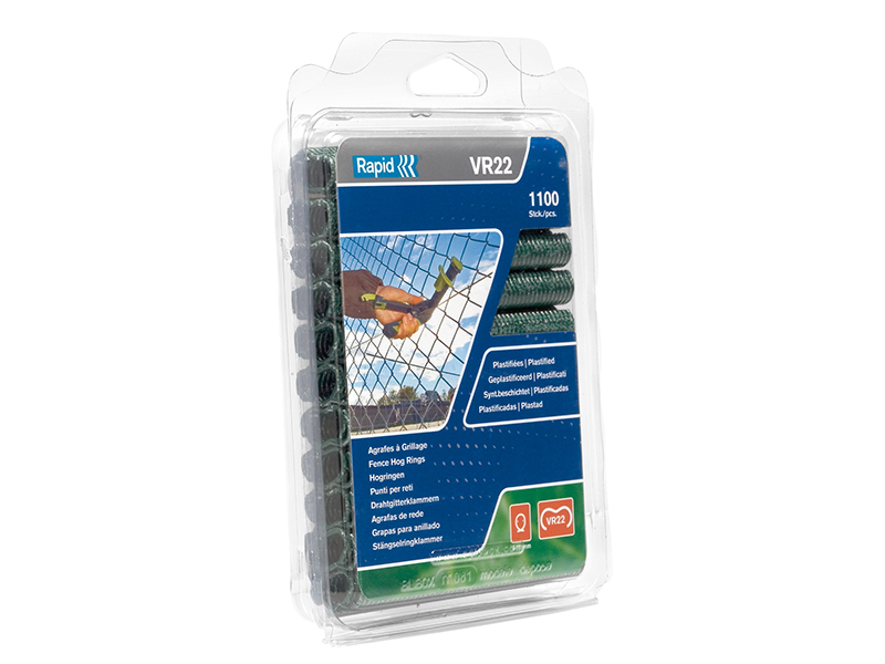 Thumbnail image of Rapid VR22 Fence Hog Rings Pack 1100 Green