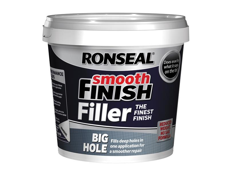 Thumbnail image of Ronseal Smooth Finish Big Hole Filler 1.2 litre