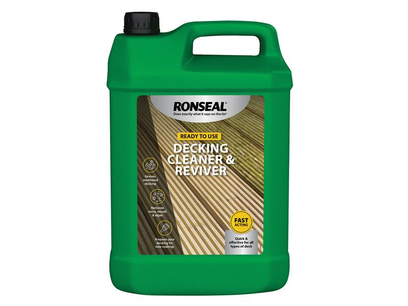 Thumbnail image of Ronseal Decking Cleaner & Reviver 5 litre