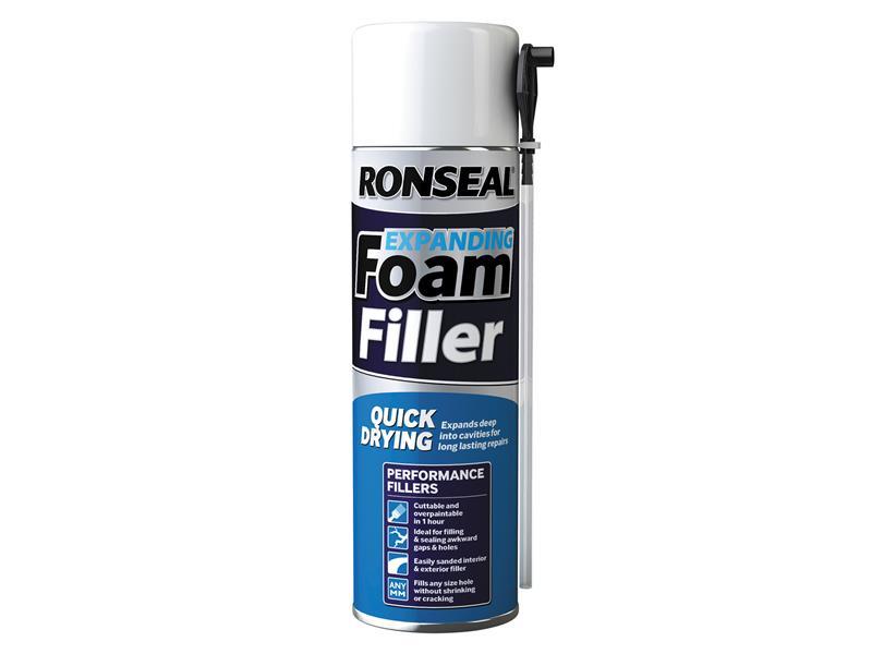Thumbnail image of Ronseal Expanding Foam Filler 500ml