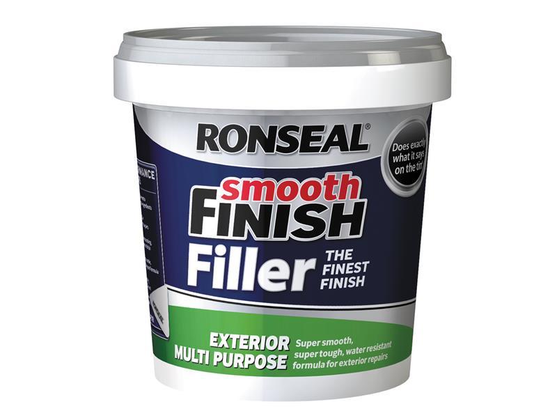 Thumbnail image of Ronseal Smooth Finish Exterior Multipurpose Ready Mix Filler Tub 1.2kg