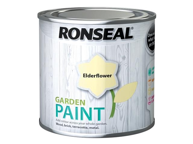 Thumbnail image of Ronseal Garden Paint Elderflower 250ml