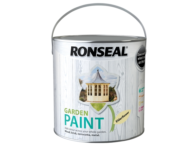 Thumbnail image of Ronseal Garden Paint Elderflower 2.5 litre