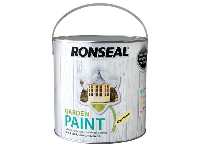 Thumbnail image of Ronseal Garden Paint Elderflower 2.5 litre