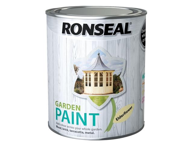 Thumbnail image of Ronseal Garden Paint Elderflower 750ml