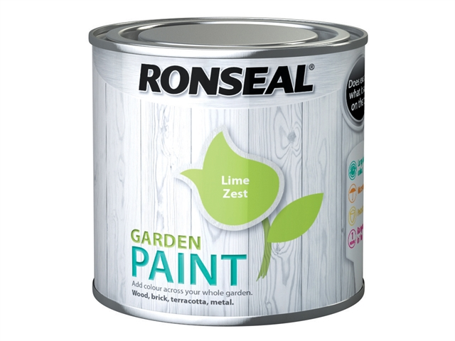 Thumbnail image of Ronseal Garden Paint Lime Zest 250ml