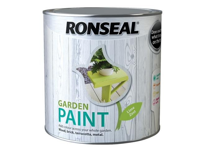 Thumbnail image of Ronseal Garden Paint Lime Zest 2.5 litre