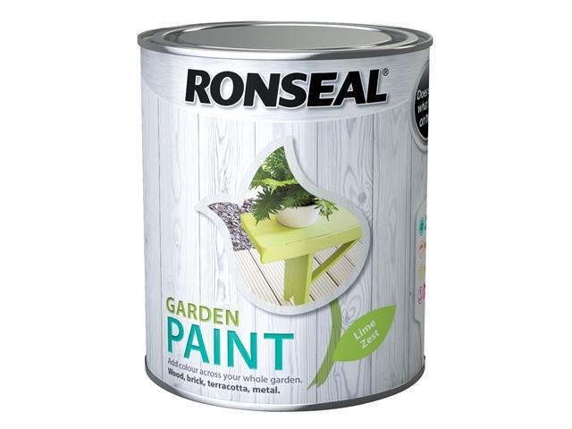 Thumbnail image of Ronseal Garden Paint Lime Zest 750ml