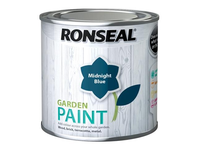 Thumbnail image of Ronseal Garden Paint Midnight Blue 250ml