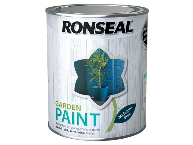 Thumbnail image of Ronseal Garden Paint Midnight Blue 750ml