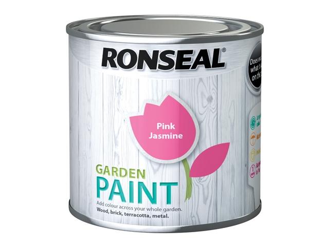 Thumbnail image of Ronseal Garden Paint Pink Jasmine 250ml