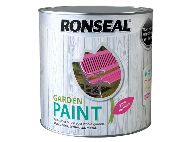 Thumbnail image of Ronseal Garden Paint Pink Jasmine 2.5 litre