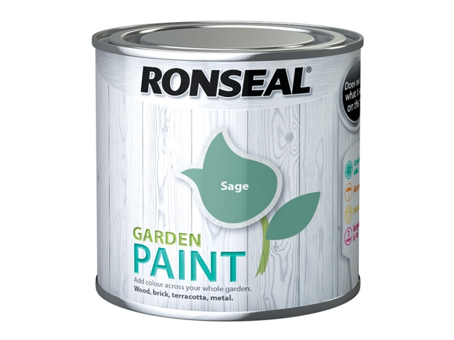 Thumbnail image of Ronseal Garden Paint Sage 250ml