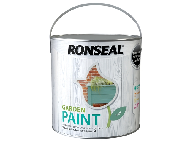 Thumbnail image of Ronseal Garden Paint Sage 2.5 litre