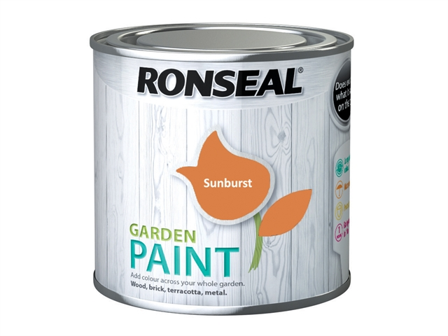 Thumbnail image of Ronseal Garden Paint Sunburst 250ml