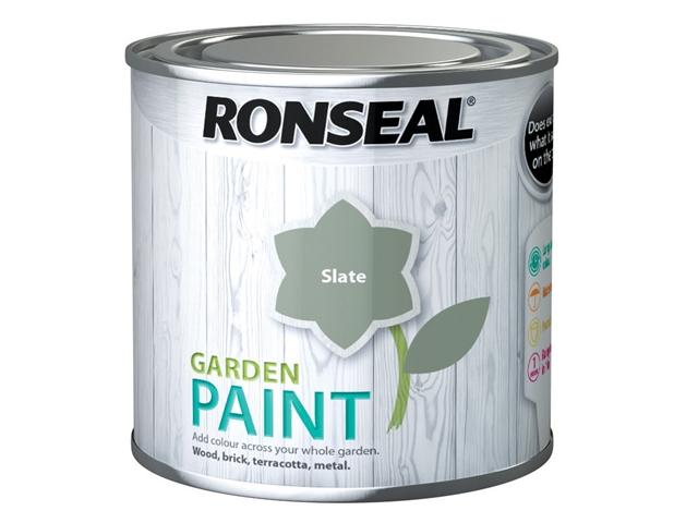 Thumbnail image of Ronseal Garden Paint Slate 250ml