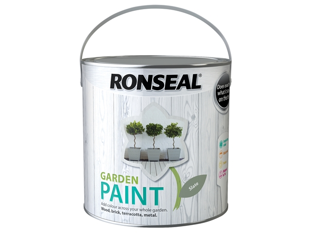 Thumbnail image of Ronseal Garden Paint Slate 2.5 litre