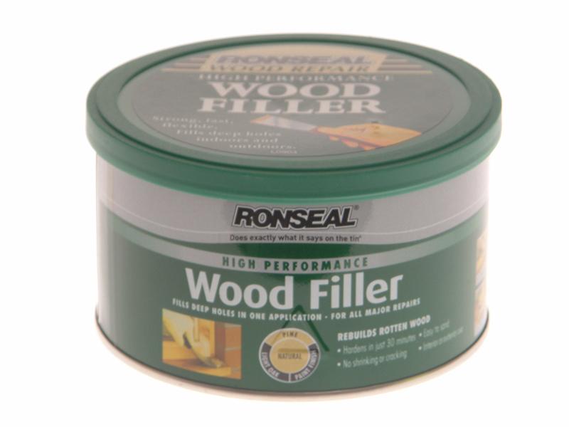 Thumbnail image of Ronseal High-Performance Wood Filler Natural 275g