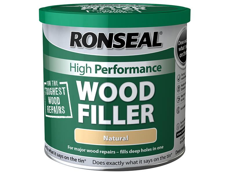 Thumbnail image of Ronseal High-Performance Wood Filler Dark 275g