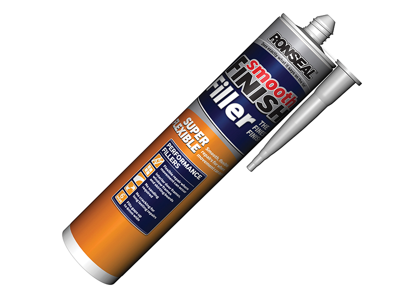 Thumbnail image of Ronseal Smooth Finish Super Flexible Filler Cartridge 300ml
