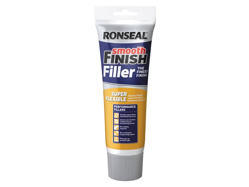 Thumbnail image of Ronseal Smooth Finish Super Flexible Filler Tube 330g