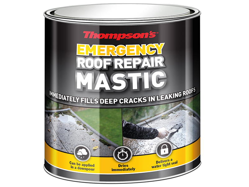 Thumbnail image of Ronseal Thompson's Emergency Roof Repair Mastic 750ml