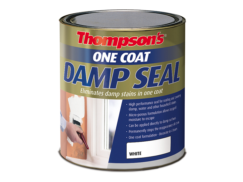 Thumbnail image of Ronseal Thompson's One Coat Stain Block Damp Seal 2.5 litre