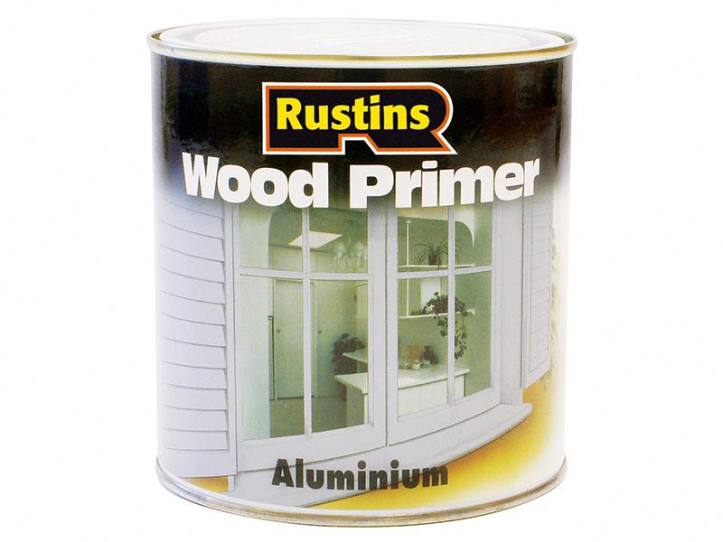 Thumbnail image of Rustins Aluminium Wood Primer 250ml